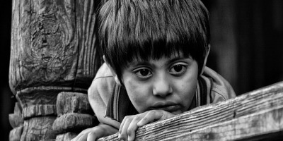 Sad Indian Boy