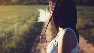 Woman Smoking
