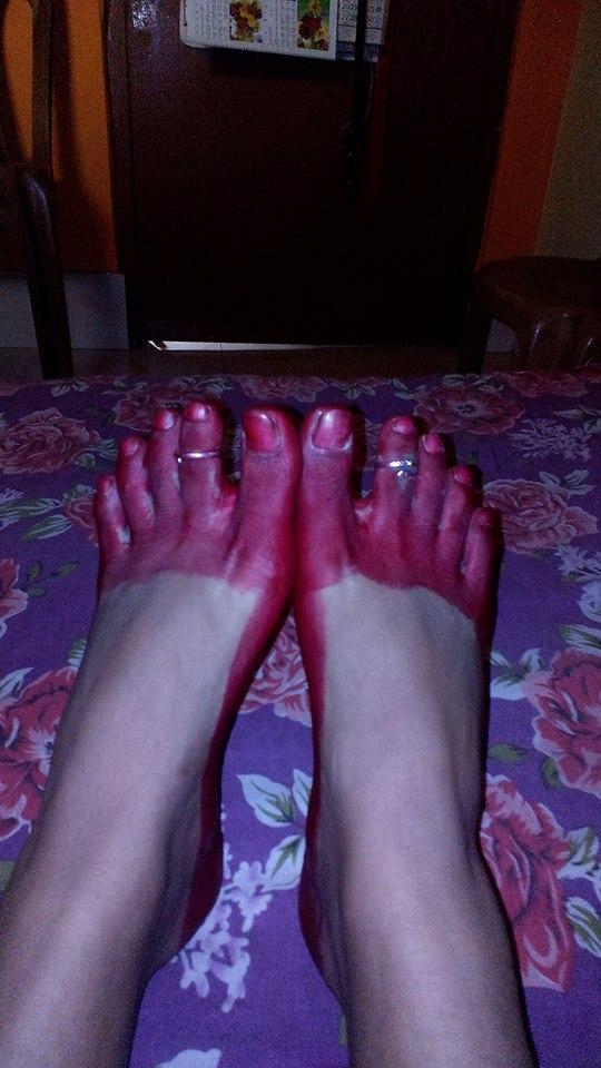 Alta Colored Feet
